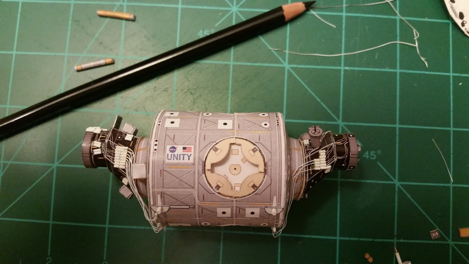"""A""""Mays""""ing Papercraft: 1/100 Scale International Space ..."""