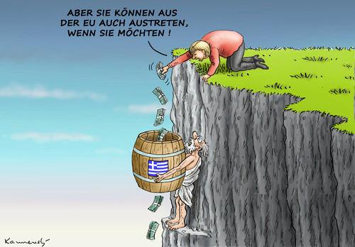 """Предложение министра финансов Германии В. Шойбле по """"временному"""" исключению страны из еврозоны было деструктивным, создающим дальнейшие угрозы всему евроблоку"""