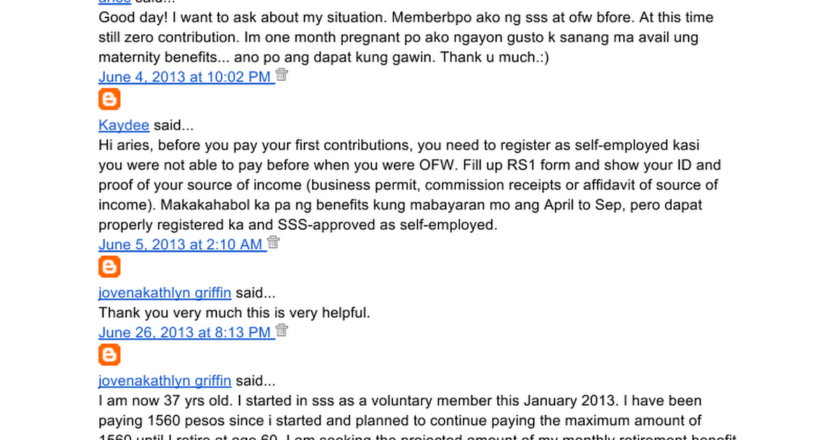 Sss contributions for voluntary members google docs yadclub Images