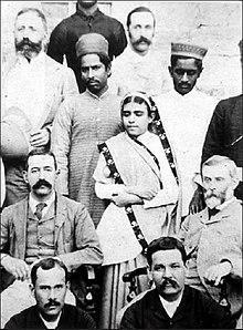 Rupa Bai Firdounji (World First lady anaesthetist), Hyderabad India.jpg
