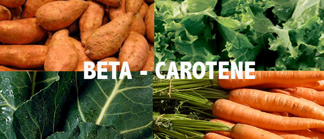 Beta carotene là nguồn cung cấp vitamin A tự nhiên