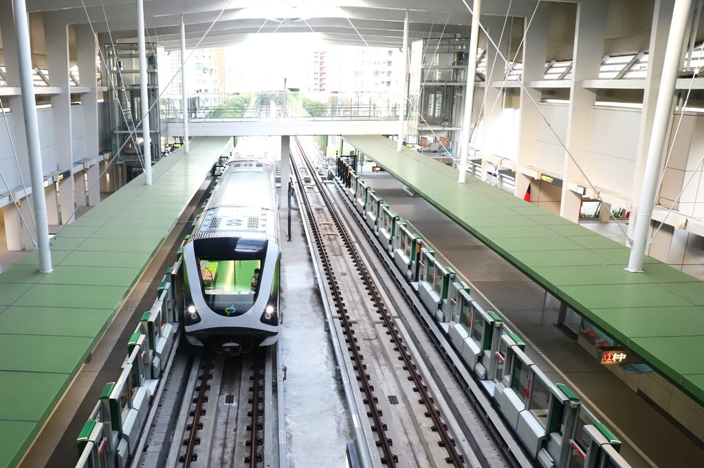 New metro Taichung in Taiwan opened to the public - Urban Transport Magazine