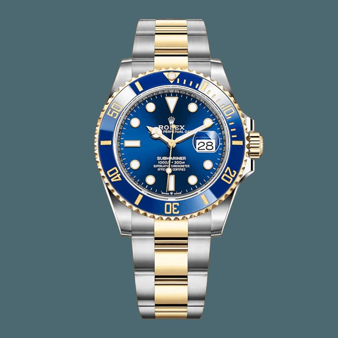 Photo of a Rolex Submariner Ref. 126613LB (Bluesy)