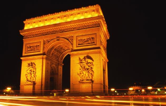 Image result for arc de triomphe images