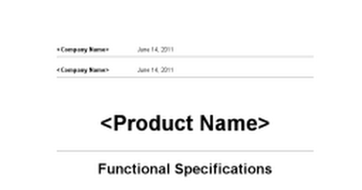 functional requirements google docs
