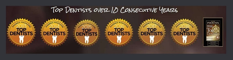 Dentist-Specific Awards & Recognition on Dentist Website