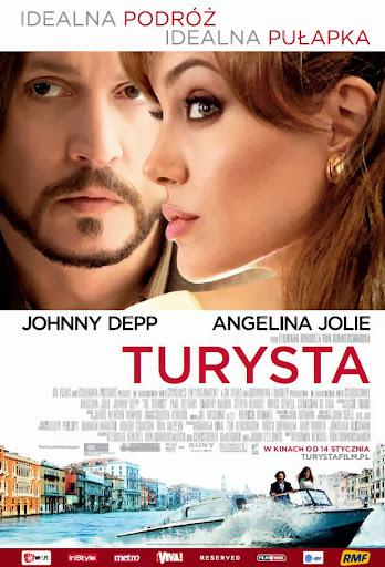 Polski plakat filmu 'Turysta'