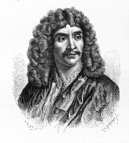 Image of Jean-Baptiste Poquelin, also known by his stage name, Molière, was a French playwright and actor. Molière:1622 – 1673. From a History of France (Volume IV) by Guizot page 557, © Lebrecht History / Bridgeman Images