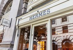 London / UK, August 21st 2019 - Hermes Shop Front In The Royal Exchange, In  Bank. Hermes Is A High-end Retailer Editorial Stock Photo - Image of  commerce, highend: 156921183