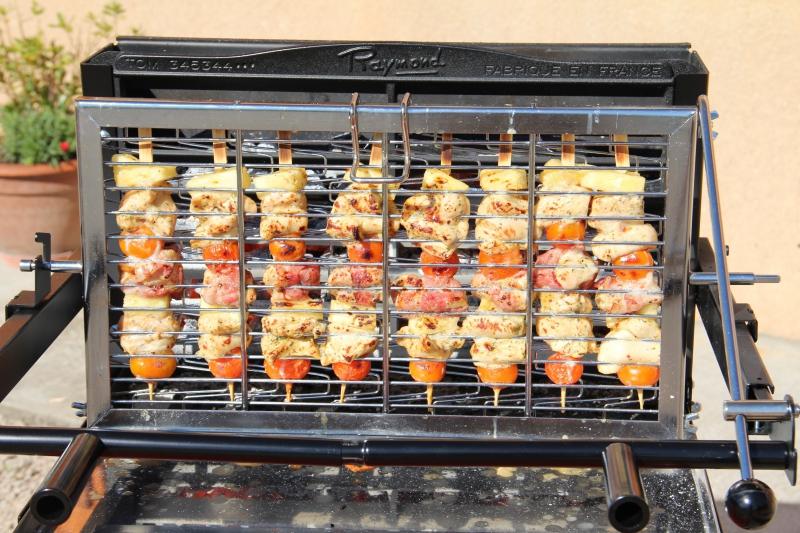 Un barbecue vertical