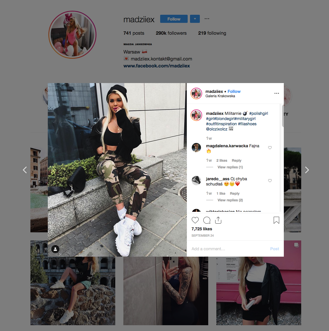 Magda Jankowska | Instagram Influencer