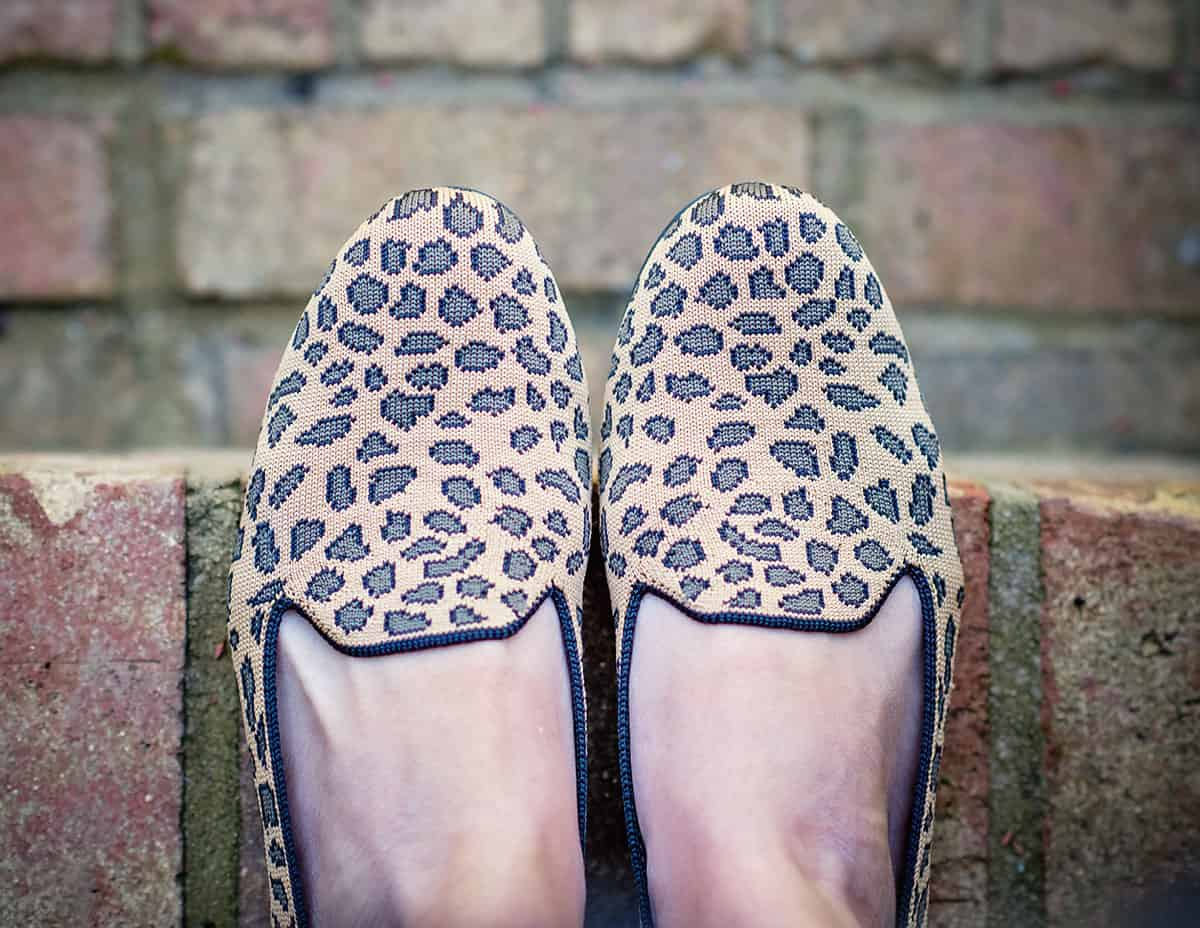 Daily Mom parents portal holiday 2018 Rothys Leopard Loafer 2 new shoes