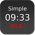 Nice Simple Clock (Widget) file APK for Gaming PC/PS3/PS4 Smart TV