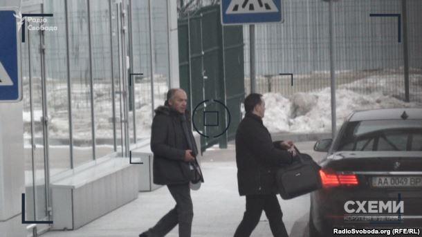 Віктор Пінчук в аеропорту «Київ» 20 січня 2017 року