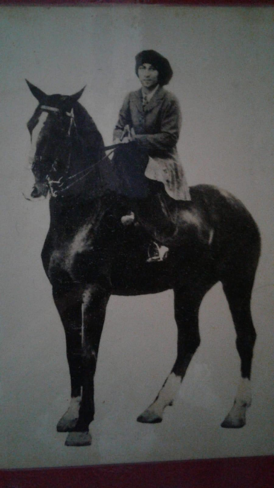 A person riding a horseDescription automatically generated with medium confidence