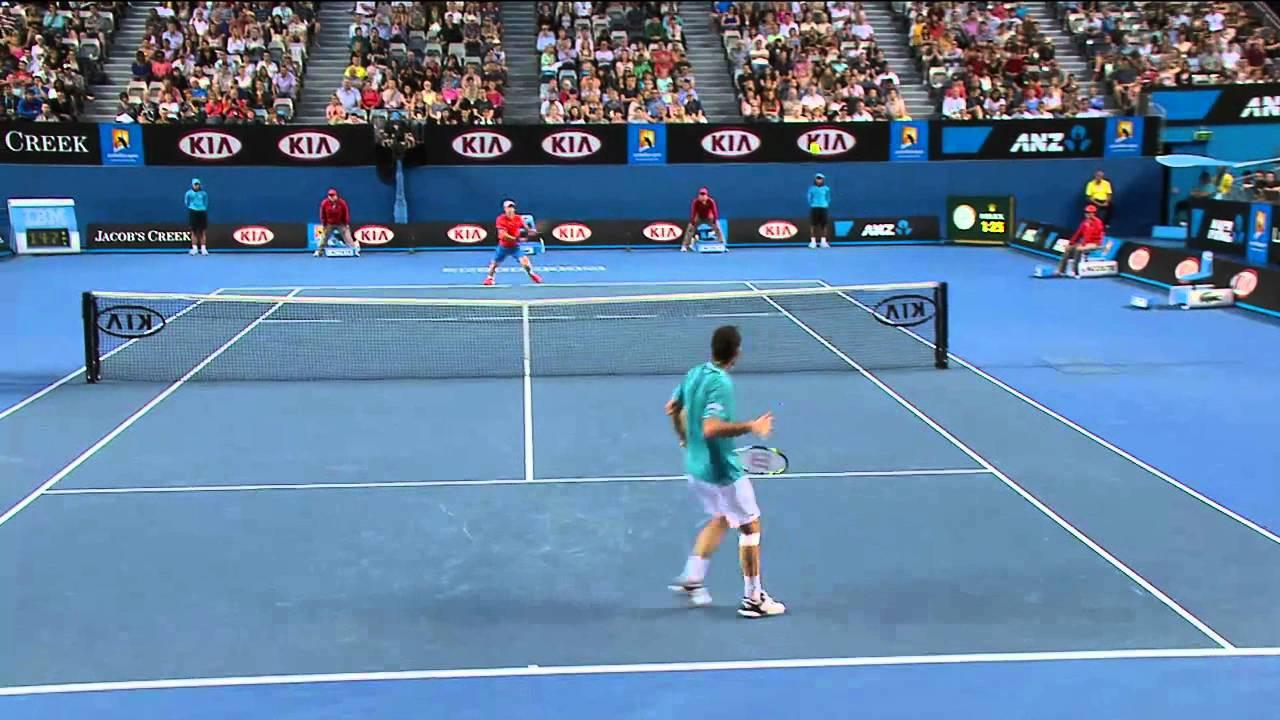 The Best Game Of Tennis Ever? | Australian Open 2012 - YouTube