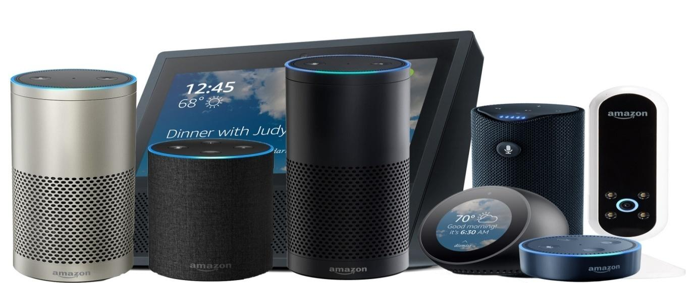 Image result for amazon alexa products
