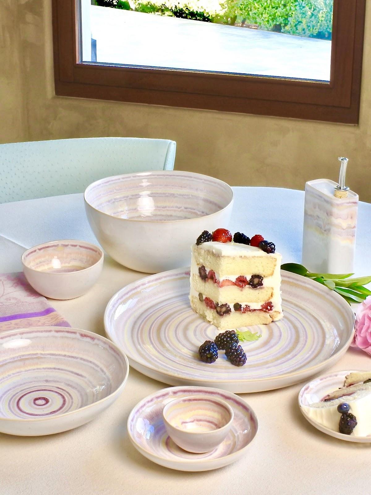 dessert ceramics