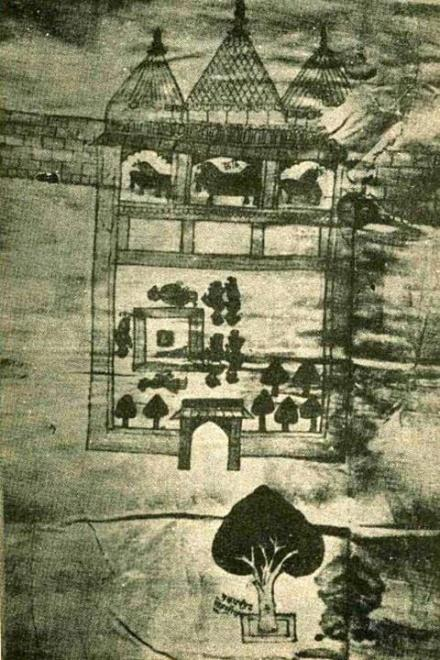 Earliest pic of Ram Janmabhoomi