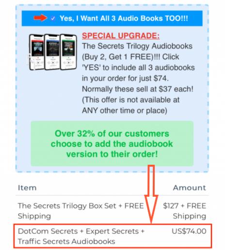 Secrets Trilogy Audiobooks Add