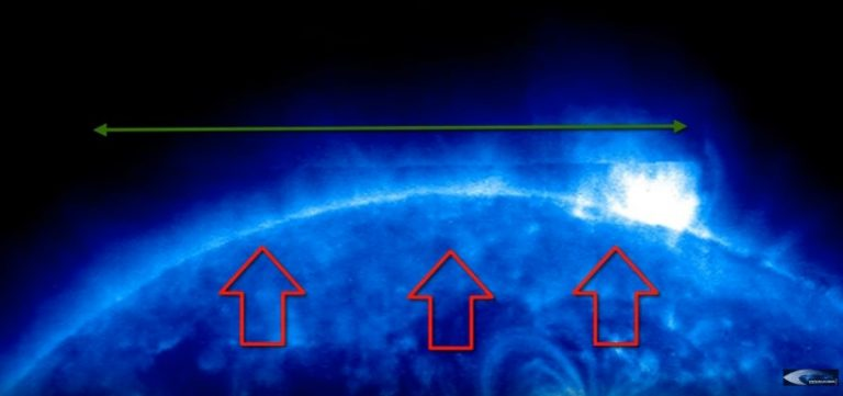 Solar Dynamics Observatory of NASA records Huge 'Rectangular Object' that seemed to emerge from the Sun 3