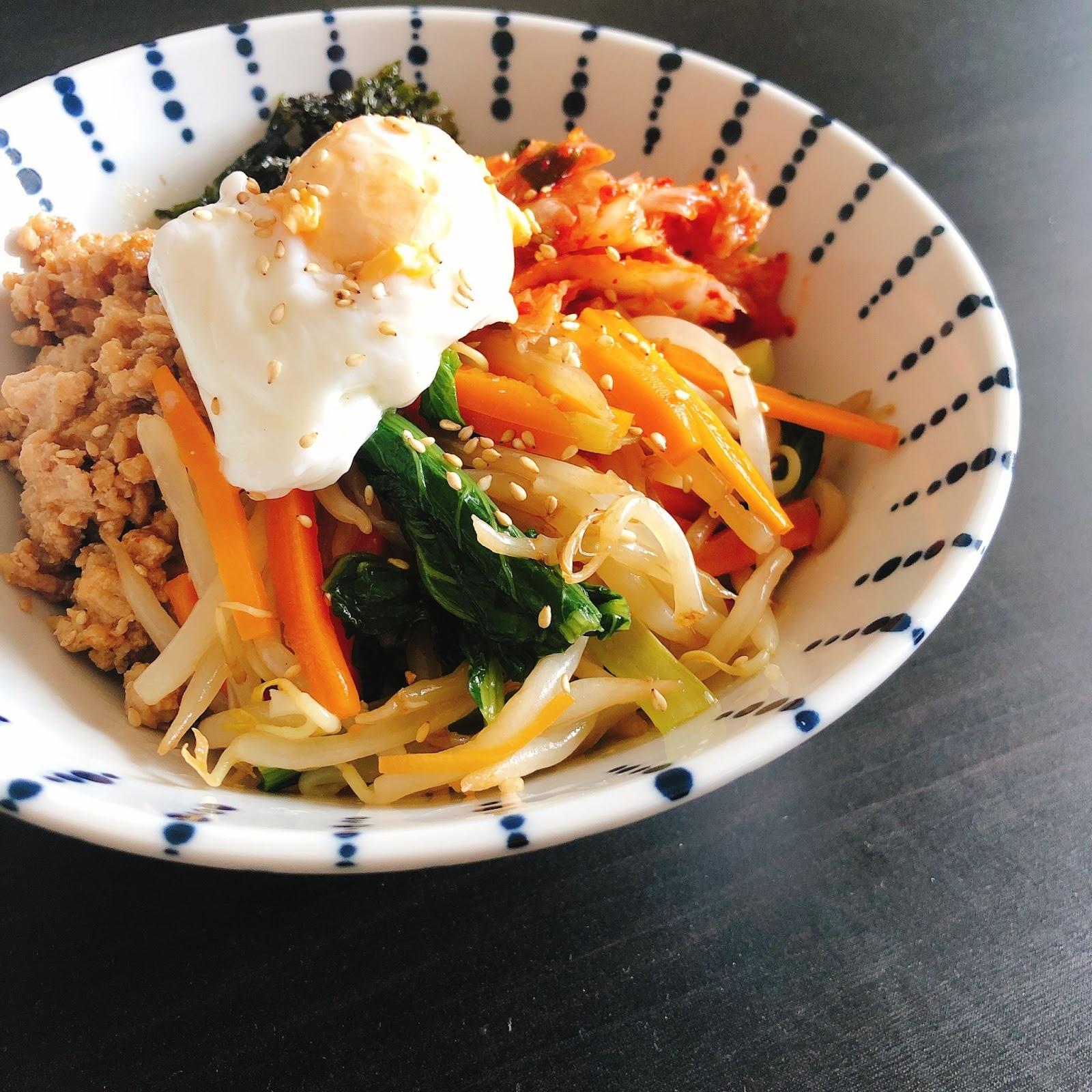 韓国料理 ダイエット レシピ ビビンバ