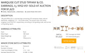 worthy.com review sell Tiffany jewelry
