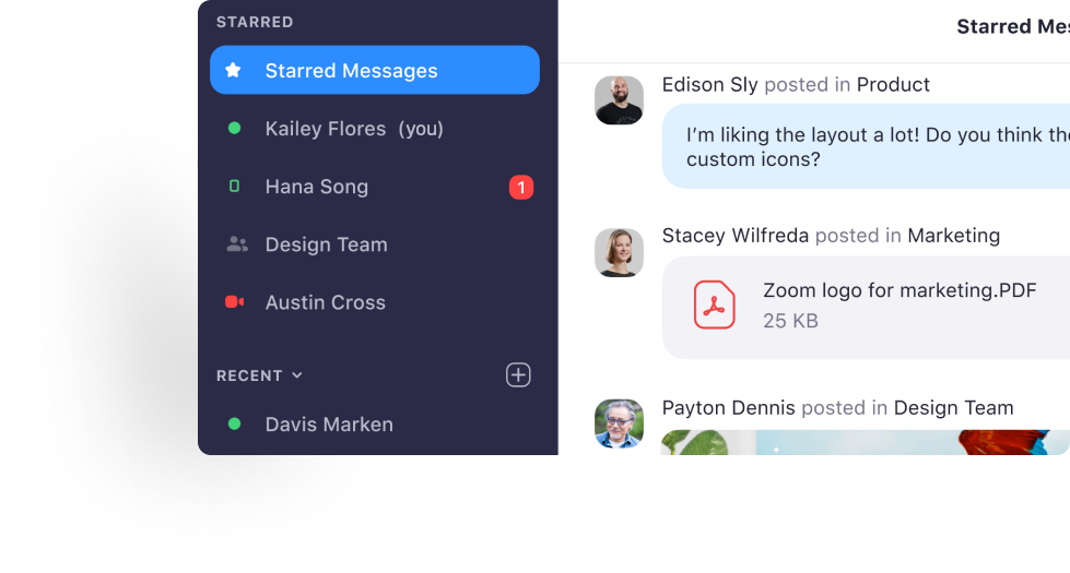 Zoom Chat is a Microsoft Teams alternative