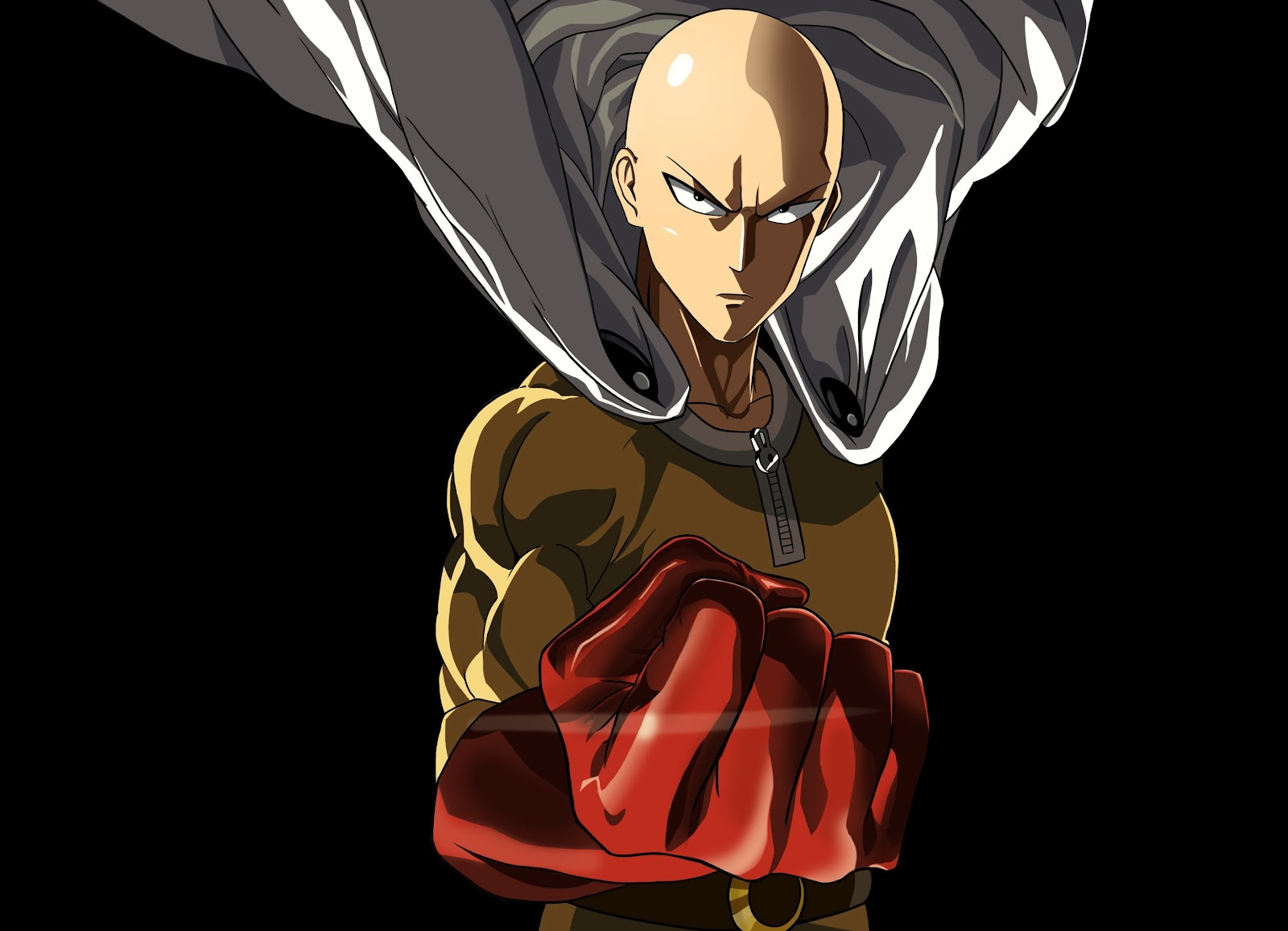 anime boy one punch man