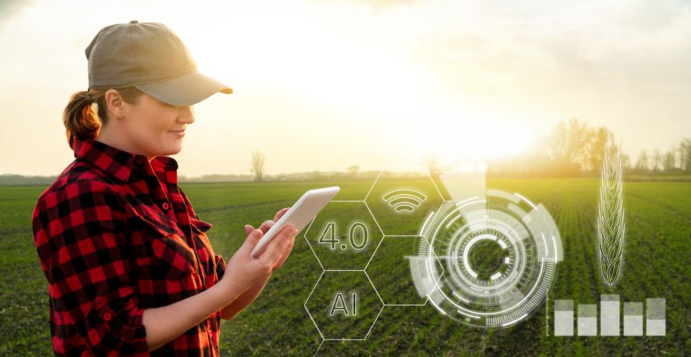 A conectividade nas áreas rurais ajudará a melhorar a integração das tecnologias a favor da produtividade e da sustentabilidade no campo. (Reprodução / Shutterstock)