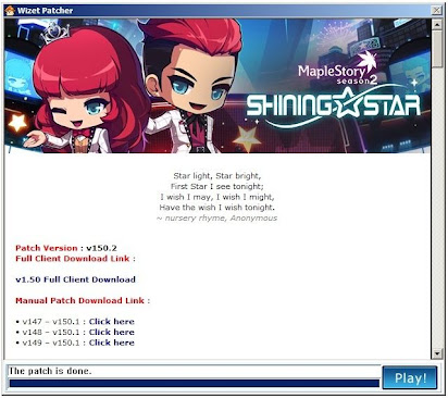 Maplestory download problem