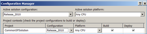 Release 2010 Configuration Manager