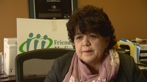 Sandra Azocar of the Friends of Medicare is calling for an investigation of ties between Alberta health's deputy minister and a private health foundation.