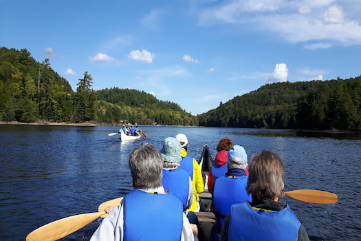 Here's What You Get With Group Experiences—Only at Haliburton Forest