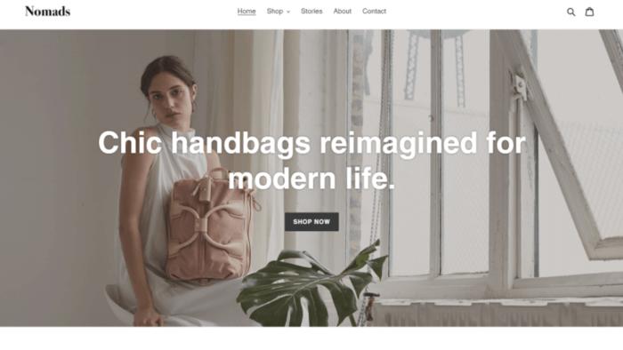 Shopify Slideshow Image Debut Theme