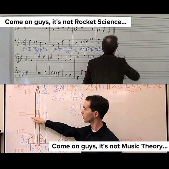 """justinguitar.com on Twitter: """"It's not rocket science, it's much harder  than that! What's your favourite bit of music theory?… """""""