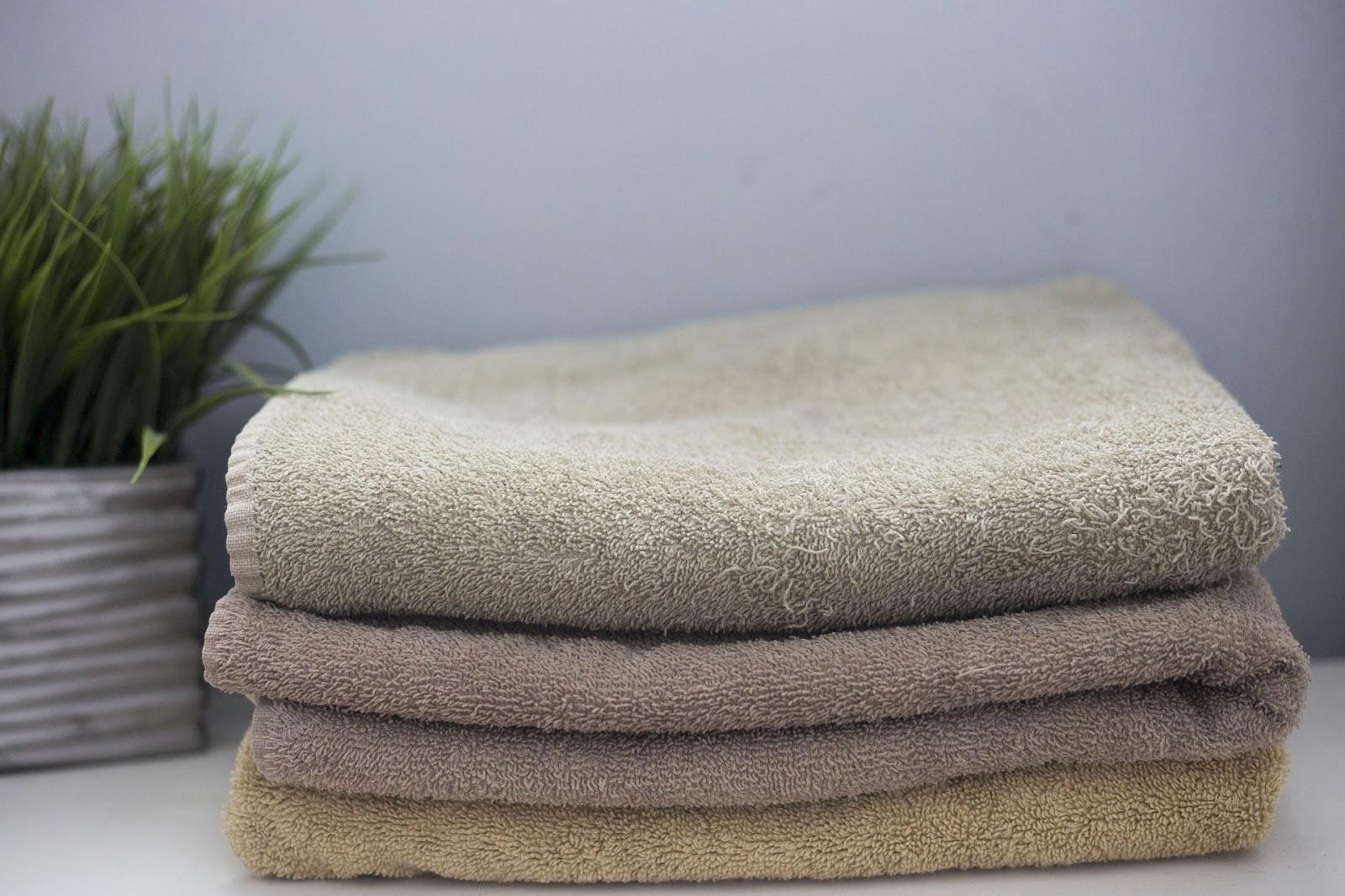 Stapel handdoeken