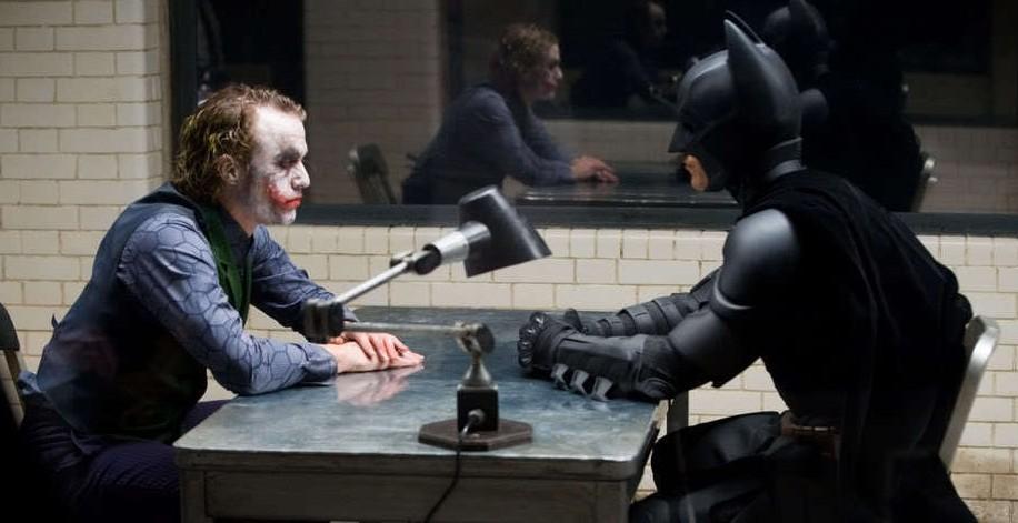 Image result for batman and joker dark knight