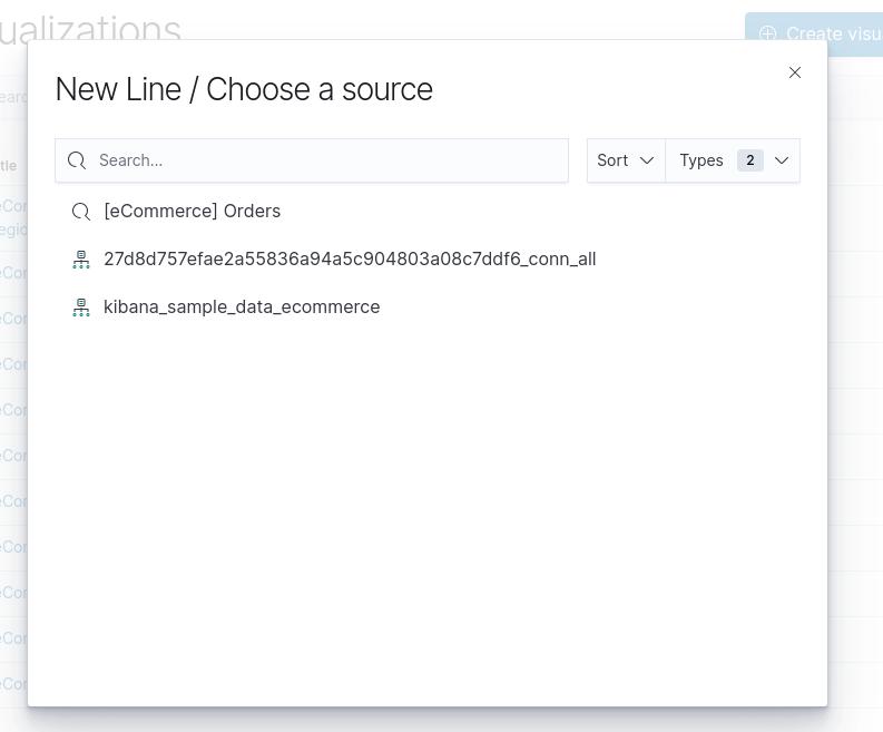 New Line / Choose a source