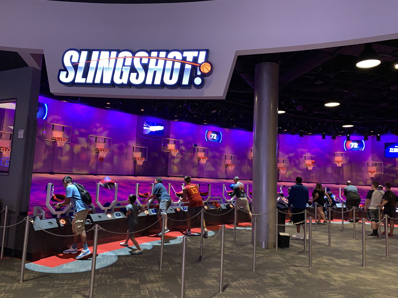 Slingshot - NBA Disney