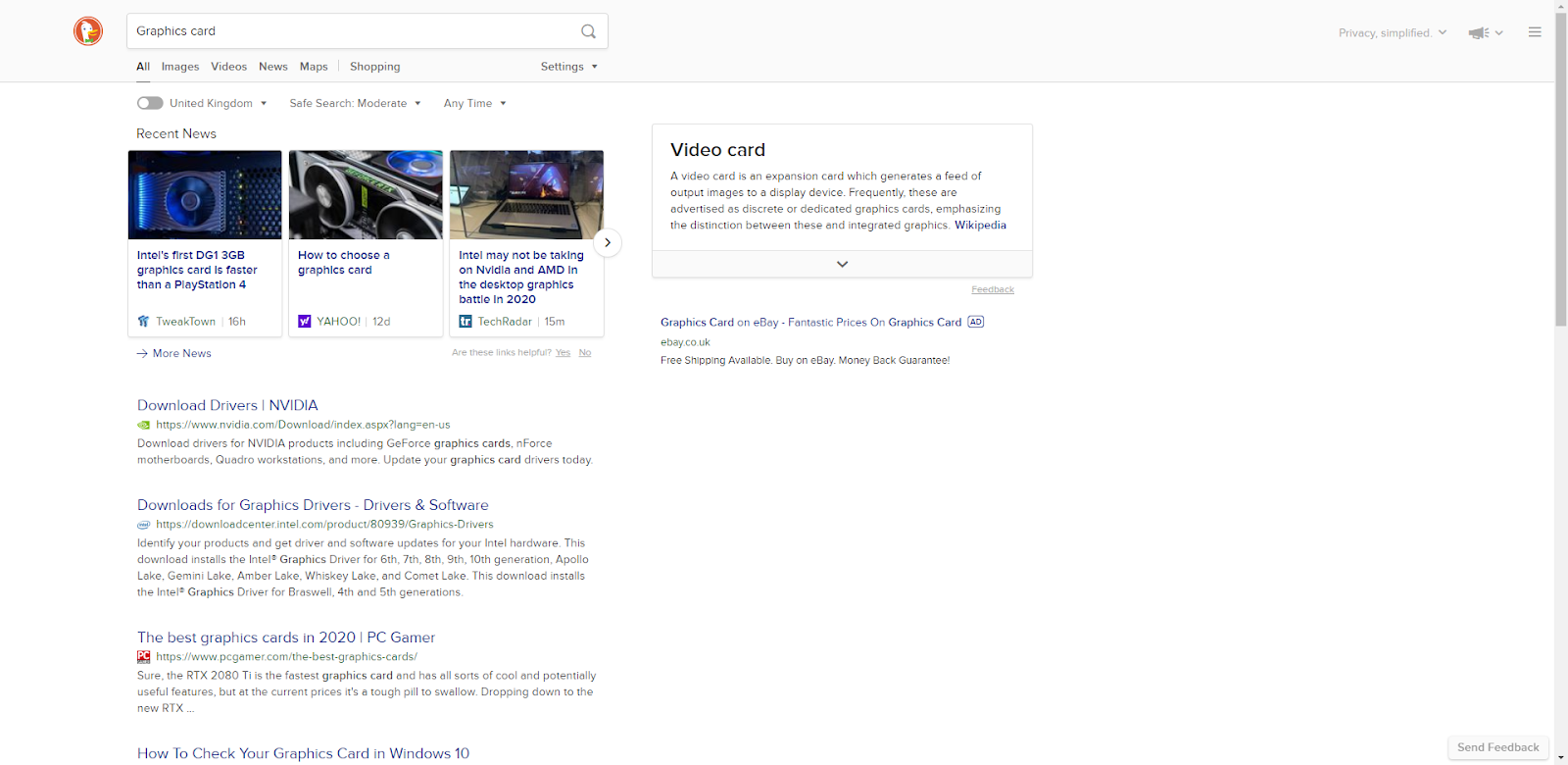 20 Google Alternatives 20   Improved privacy & same results