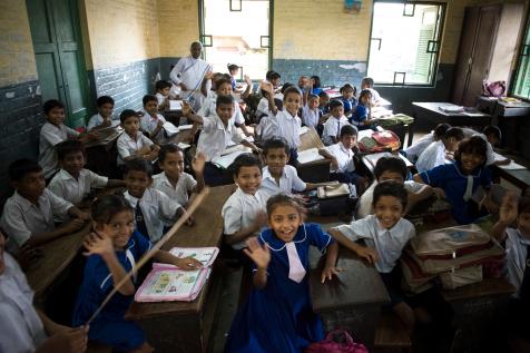Students of the St Teresa School
