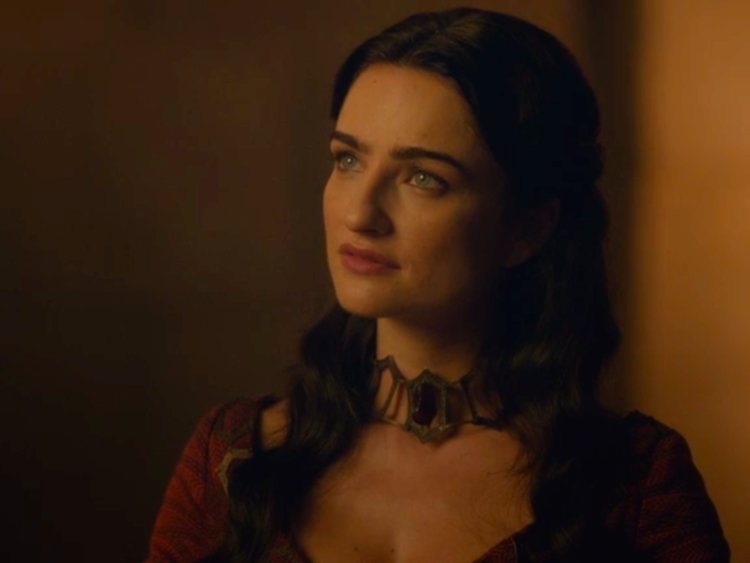 Kinvara, the High Priestess of the Lord of Light, was also vaguely threatening towards Varys on the sixth season.