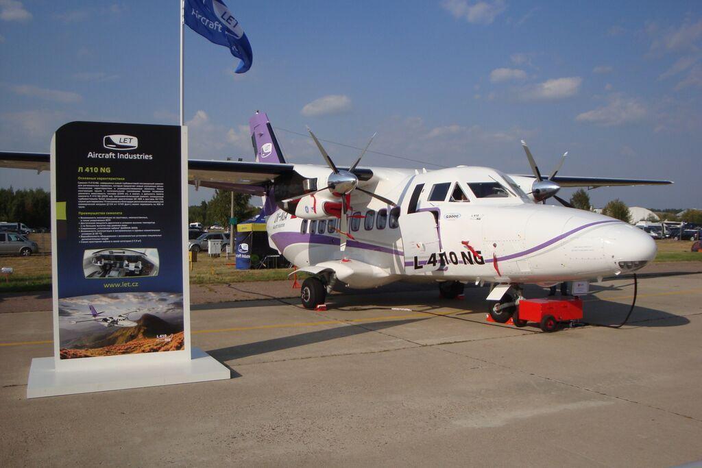 Představení letounu L410 sdvěma motory H85