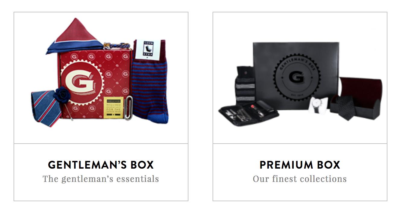 Gentleman's Gift Boxes