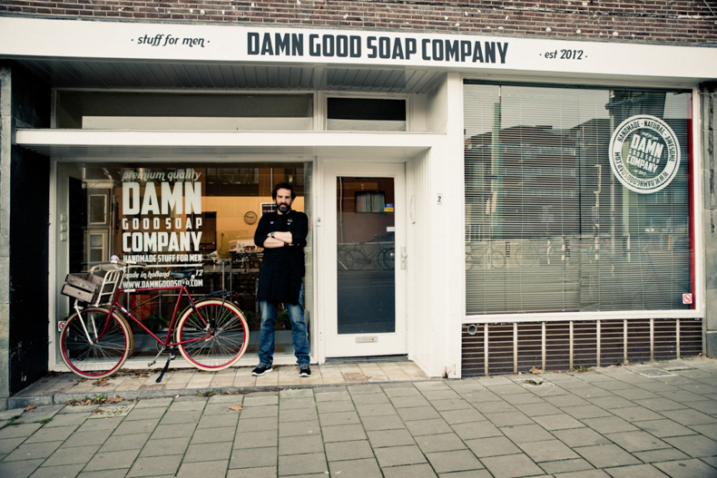Boutique Damn Good Soap Company tenue par Jasper Van Impelen