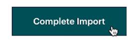 El cursor hace clic - Completar importación - Subir archivo