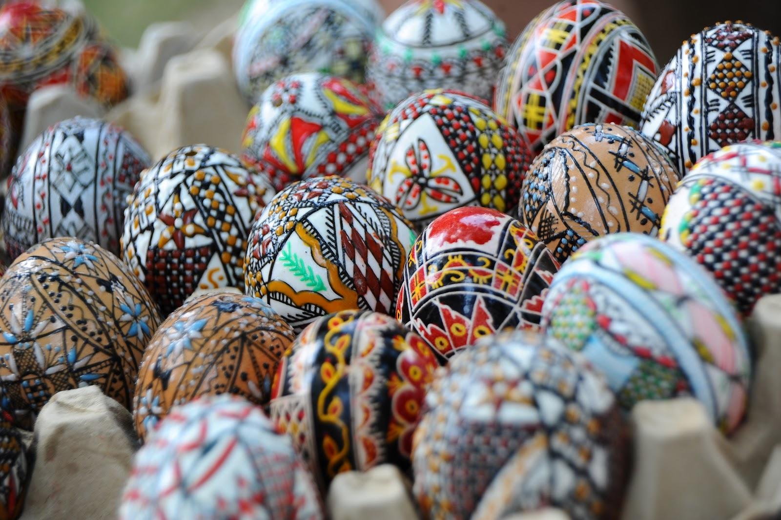 Rumunská Velikonoční vajíčka