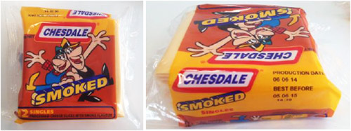 Recall image of Chesdale Smoked Cheese 250g