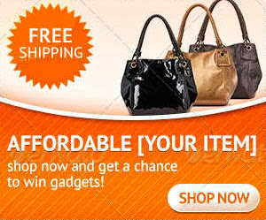 shopping product web banner